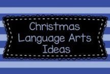 Christmas Language Arts Ideas / Lots of great Christmas ideas for language arts to mostly to Pre-K, Kindergarten, and first graders, but also some ideas for older kids, too!    Visit me at www.heidisongs.com, or at my blog at http://heidisongs.blogspot.com.