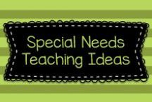 Special Needs Teaching Ideas / Lots of great ideas for teaching special needs children at the Pre-K, Kindergarten, and first grade level.  Visit me at www.heidisongs.com, or at my blog at http://heidisongs.blogspot.com.