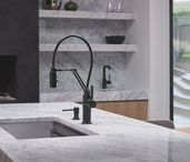 Kitchen Spaces / SPACE TO CREATE. Brizo kitchen faucets are made to stand out.