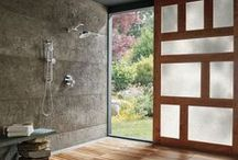Shower Spaces / LUXURIOUS SERENITY. A Brizo shower is a personal retreat, a tranquil sanctuary, an extension of the complete bath experience.
