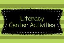 Literacy Center Activities / Lots of great ideas for creating learning centers (also known as word work!) in general to mostly to Pre-K, Kindergarten, and first graders, but also some ideas for older kids, too!    Visit me at www.heidisongs.com, or at my blog at http://heidisongs.blogspot.com.