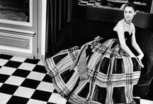 Iconic Fashion Photography / Black and white iconic photographs. / by Maxine Trowbridge