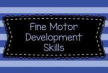 Fine Motor Skills Development / Lots of great ideas for teaching fine motor skill development to mostly Pre-K, Kindergarten, and first graders.  Visit me at www.heidisongs.com, or at my blog at http://heidisongs.blogspot.com.