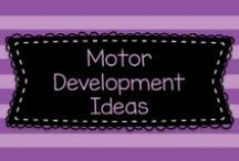 Motor Development Ideas / Lots of great ideas for teaching Motor Development (also known as P.E.!) to mostly Pre-K, Kindergarten, and first graders.  Visit me at www.heidisongs.com, or at my blog at http://heidisongs.blogspot.com.