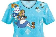 Tooniforms Disney and more Prints! /  Cherokee Tooniforms has a variety of Disney and other cartoon scrubs: Doc McStuffins scrubs, Mickey Mouse Scrubs, Frozen scrubs, Betty Boop scrubs, Hello Kitty scrubs and much more.