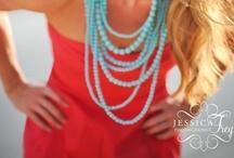 Colour palette: coral & turquoise
