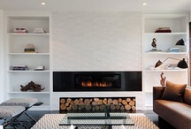 Fireplaces / by hd STYLE STUDIO