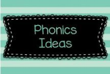 Phonics Ideas / Ideas for helping children learn how to sound out words and also learn phonics skills in general.  Visit me at www.heidisongs.com, and on my blog at http://heidisongs.blogspot.com!