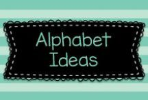 Alphabet Ideas / Ideas for helping young children learn the alphabet!  Visit me at www.heidisongs.com, and on my blog at http://heidisongs.blogspot.com!
