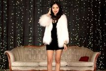 The Fashion Statement / Apple beanie, high-waisted jean shorts, combat boots and the fur!  / by The Platform