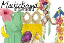 "DisneyBound + Bob Mackie / Blogger Leslie Kay of DisneyBound styled some outfits inspired by Bob Mackie Clothing, Art, and Barbies in a series called ""Mackie-Bound"". Here are some of her amazing style creations. / by Bob Mackie"