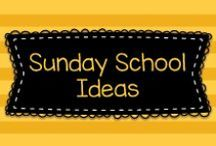 Sunday School Ideas / These are ideas to be used in a Christian Sunday School with young children.