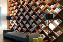 Bookshelves / Bookcases / We love books! This board is inspiration for how to store and display books.