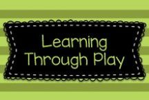 Learning Through Play / Ideas to help young children learn through play! Visit me at www.heidisongs.com, and on my blog at http://heidisongs.blogspot.com!