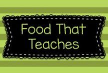 Food That Teaches! / This board has lots of fun food projects to be used in the classroom, in conjunction with other lessons.  Cooking in the classroom promotes many skills!