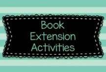 Book Extension Activities / This board has tons of ideas for activities such as crafts, writing activities, or comprehension games that can be done to extend the learning after reading children's books!