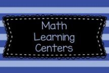 Math Learning Centers / This board is filled with ideas for hands-on math manipulative centers for Pre-K, Kindergarten, First, and early or remedial Second Grade.  These are mostly ideas for activities that children can do on their own.