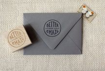 real mail / inspiration for and artifacts from sending real mail