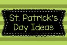 St. Patrick's Day Ideas / Ideas to help celebrate and learn about St. Patrick's Day in pre-K, Kindergarten, and first grade!!