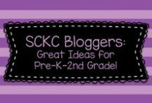 SCKC Bloggers: Great Ideas for Pre-K-2nd Grade! / Great ideas for Pre-K through 2nd grade students from the Southern California Kindergarten Association Conference Bloggers!