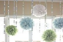 Party Ideas / Cute, fun and creative ideas to use at various types of parties / by Ashlee Schmidt