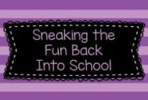 Sneaking the Fun Back Into School / This is a collaborative board dedicated to helping teachers find ways to make school FUN AGAIN (and developmentally appropriate) for Pre-K, TK, K, and First Graders.