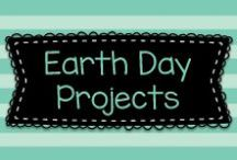 Earth Day Projects / Ideas to help teach kids about Earth Day.