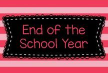 End of the School Year / This board has ideas to help you get ready for the end of the school year and to celebrate it!