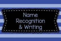 Name Recognition & Writing Activities / Here are lots of fun ways to help kids practice writing their names!