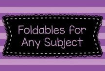 Foldables for any Subject! / This board has directions and ideas for foldable projects for educators.