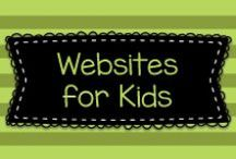 Websites for Kids / This board has some great educational websites for children, especially children from Pre-K to second grade.