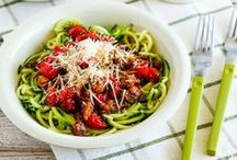 Best Spiralizer Recipes / This board features healthy Spiralizer recipes from Kalyn's Kitchen and my favorite food blogs around the web. / by Kalyn's Kitchen