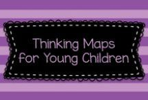 Thinking Maps for Young Children / These are examples of Thinking Maps that could be done in Pre-K, Kindergarten, or First Grade.