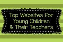Top Websites for Young Children & Their Teachers / Here is a collection of the best educational websites to help young children in Preschool Pre-K, Kindergarten, and First Grade Learners. Resource sites for teachers and parents are also included.