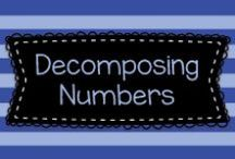Decomposing Numbers / This board has lots of ideas for decomposing numbers in Kindergarten and First Grade!