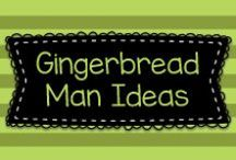 Gingerbread Man Ideas / This board has lots of Gingerbread Man themed educational and craft ideas for pre-K, TK, Kindergarten, first grade, and second grade classrooms.