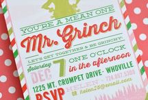 Grinchmas / Ideas for Christmas party with Grinch theme / by Tammy Hatley
