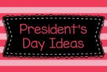 President's Day Crafts and Activities for Pre-K, Kindergarten, and First Grade! / This board has lots of great crafts, activities, and lessons to teach kids about President's Day and patriotic themes for pre-K, kindergarten, and first grade!