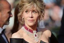Cannes Film Festival / Espectaculares lucieron las celebridades en la alfombra roja del festival de Cannes adornando sus vestidos con divinas piezas de joyería.