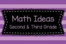 Math Ideas for Second & Third Grade / This board has great ideas for teaching math in second and third (and maybe even some higher grades!)