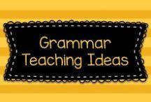 Grammar Teaching Ideas / Here are some great ideas for teaching kids grammar!