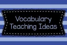 Vocabulary Teaching Ideas / Here are some fun ideas for teaching kids vocabulary!