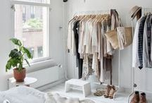 Home: Dressing Room / Having an own space to dress is a dream of every woman. Find some inspirational ways for a cosy, functional and beautiful dress room: