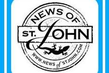 "News of St. John, Too / Frank Barnako launched ""News of St. John"" back in 2004 as a way to increase exposure to his then-island rental. From Jenn, ""It started as a text email and soon morphed into an online website filled with news and information pertaining to the island of St. John. After running the site for 9 years, Frank decided to focus on his photography and listed the site for sale.  That's where I came in. . . avid follower of NewsofStJohn.com for quite some time when I read that Frank's website was for sale."""
