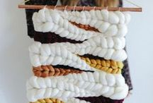 Art: Weaving & Macrame / It's such a beautiful art to include macrames and weaving products as a wall hanging for your gallery wall or as a single statement piece.