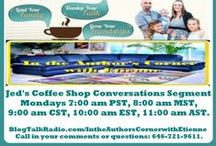 A Tribute to Coffee Shop Conversations with Jed & Jen / Welcome to this tribute board to Jed & Jen who are glad you are here! On Coffee Shop Conversations, you'll find freshly brewed wisdom to help you lead your family, grow your friendship, and mature your faith, so that you and your family can live joy-filled, Christ-honoring lives. Grab a cup of coffee, tea, or other favorite beverage, and join them in this ongoing conversation!