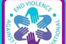 "A Tribute to End Violence Against Women (EVAW) International / Mission Statement: ""We inspire and educate those who respond to gender-based violence, equipping them with the knowledge and tools they need to support victims and hold perpetrators accountable.  We promote victim-centered, multidisciplinary collaboration, which strengthens the response of the criminal justice system, other professionals, allies, and the general public -- making communities safer."""