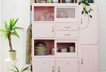 """Home: Bohemian / Bohemians know how to live a colorful and happy live at home and to include the """"free spirit, no rule"""" charme: Be inspired by the Jungalow Style, The New Bohemians by Justina Blakeney and lots of others inspiring Boho stylists, designers and lovers."""