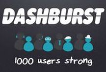 "DashBurst and Social Media / The social network for content creators. They're also a creative agency & independent news source covering the latest in social media, marketing, technology, art, & design. By their own admission, ""DashBurst is one of the fastest growing communities on the web with over 275,000 page views/month since our launch in February of 2013."""