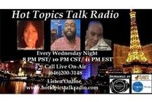 A Tribute to Hot Topics Talk Radio Network / Online Talk Radio Live On-Air Call Number: 646-200-3148. Listen to HTTR Network at: www.HotTopicsTalkRadio.com Hot Topics Talk Radio Network offers full-production radio ads to be aired live on-air during all of our shows. Commercial ads will be heard by over 10,000 listeners each month nationwide. To increase the visibility of your business & products, contact HTTR Network for a personal quote. 909-753-4546. Or email HotTopicsTalkRadio@yahoo.com  for a specialize quote.